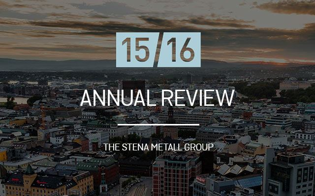 Annual review 2015-2016, Stena Metall Group