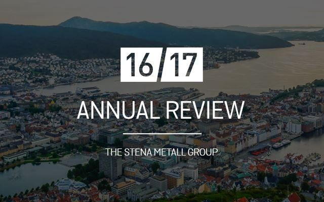 Annual review 2016-2017, Stena Metall Group